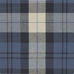 Ralph Lauren Summer Cottage Plaid Indigo LCF65546F Artiste de la Mer Collection Indoor Upholstery Fabric