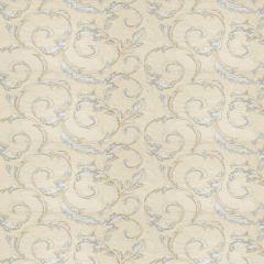 Fabricut Britton Leaves-Porcelain 283801  Decor Fabric