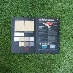Serge Ferrari Stamskin One Fabric Sample Card  - Fabric Swatches