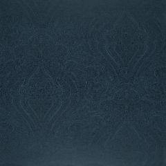 F-Schumacher Breckenridge Paisley-Lapis 5006241 Luxury Decor Wallpaper