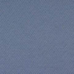 Sunbrella Thibaut Haven Herringbone Marine Blue W80009 Portico Collection Upholstery Fabric