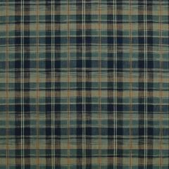 Ralph Lauren Ryokan Plaid Indigo LCF68195F Artisan Loft Collection Multipurpose Fabric