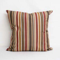 Indoor/Outdoor Sunbrella Brannon Redwood - 24x24 Throw Pillow (quick ship)