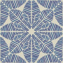 Outdura Palmetto Azure 1832 The Ovation II Collection - Reversible Upholstery Fabric