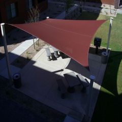 DIY Shade Sail - Square - 17x17 feet
