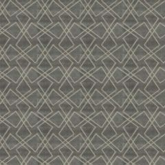 Fabricut Fashion Geo Silver 98046 Luxe Nuances Collection Indoor Upholstery Fabric