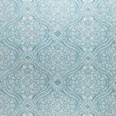 Sunbrella Thibaut Tulsi Paisley Spa Blue W80314 Calypso Collection Upholstery Fabric