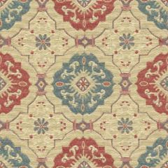 Kravet Design Red/Teal 31436-519 Guaranteed in Stock Indoor Upholstery Fabric