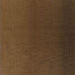 F-Schumacher Brushed Plaid-Burnished Bronze 5005785 Luxury Decor Wallpaper