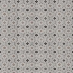 Fabricut Dubie Ogee Graphite 77119-01 Chromatics Collection Multipurpose Fabric
