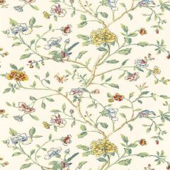F-Schumacher Annabelle Vine-Primary 5004400 Luxury Decor Wallpaper