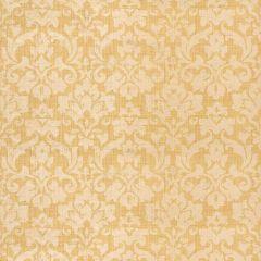 F-Schumacher Bellezza Damask-Alabaster 5003700 Luxury Decor Wallpaper