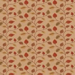 Fabricut Betting Leaves Autumn 64876-01 Chromatics Collection Multipurpose Fabric