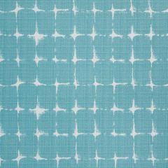 Premier Prints Neptune Aqua / Luxe Polyester Indoor-Outdoor Upholstery Fabric