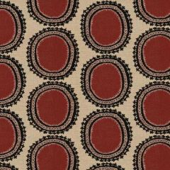 Kravet Design Red/Black 31421-819 Guaranteed in Stock Indoor Upholstery Fabric