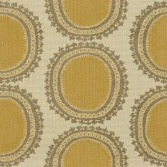 Kravet Design Yellow/Brown 31421-411 Guaranteed in Stock Indoor Upholstery Fabric