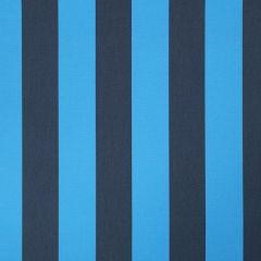Sunbrella Beaufort Azure 4741-0000 Awning Stripes Collection Awning / Shade Fabric