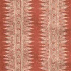 Lee Jofa Indian Zag Madder 2010136-119 by Suzanne Rheinstein Multipurpose Fabric
