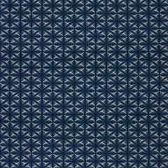 Sunbrella Thibaut Yukata Batik Indigo W80050 Portico Collection Upholstery Fabric