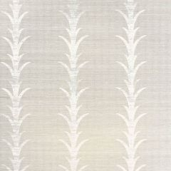 F-Schumacher Acanthus Stripe-Fog & Chalk 5006052 Luxury Decor Wallpaper