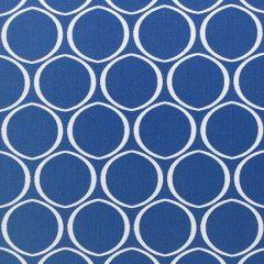 Sunbrella Thibaut Ellipse Marine Blue W80319 Calypso Collection Upholstery Fabric