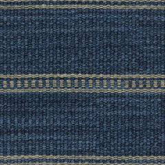 Kravet Saddle Stripe Indigo 31511-516 Indoor Upholstery Fabric