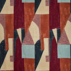 Groundworks District Claret GWF-3752-795 by Kelly Wearstler Multipurpose Fabric