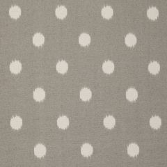 Premier Prints Ikat Dots Grey Indoor-Outdoor Upholstery Fabric