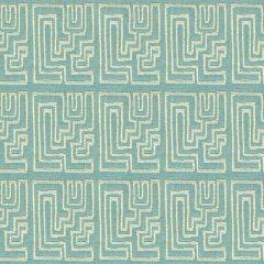 Groundworks Sunbrella Miramar Robins Egg GWF-3420-511 by Kelly Wearstler Upholstery Fabric