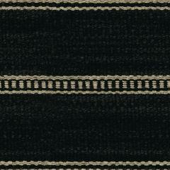 Kravet Saddle Stripe Onyx 31511-816 Indoor Upholstery Fabric