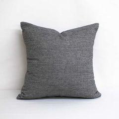 Indoor/Outdoor Sunbrella Tailored Smoke - 20x20 Throw Pillow (quick ship)