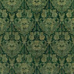 GP and J Baker Lapura Velvet Emerald BP10829-3 Coromandel Collection Multipurpose Fabric