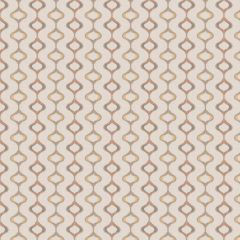 Fabricut Chop Ogee Coral 64908-05 Chromatics Collection Multipurpose Fabric