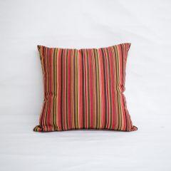 Indoor/Outdoor Sunbrella Dorsett Cherry - 18x18 Throw Pillow (quick ship)
