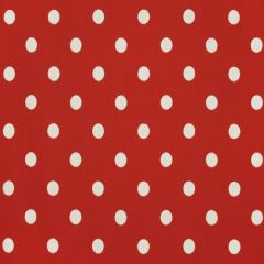 Premier Prints Polka Dot American Red Indoor-Outdoor Upholstery Fabric