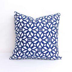 Indoor Sunbrella Luxe Indigo - 20x20 Throw Pillow (quick ship)