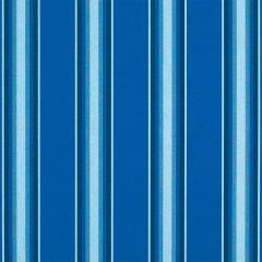 Sunbrella Pacific Blue Fancy 4755-0000 46-Inch Awning / Marine Fabric
