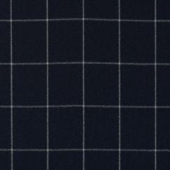 Ralph Lauren Clifton Tattersal Blue LFY62100F Indoor Upholstery Fabric