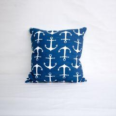 Indoor Duralee Blue - 18x18 Throw Pillow (quick ship)
