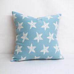 Indoor/Outdoor Duralee Baltic - 20x20 Throw Pillow (quick ship)
