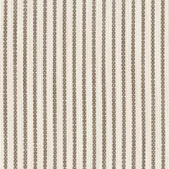 Perennials Portofino Ticking Stripe R-Mocha Upholstery Fabric