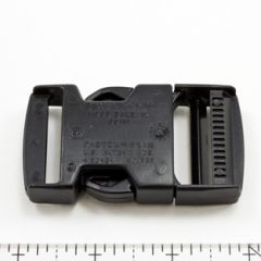 Fastex Side Release Buckle 1 And 1/2 inch Delrin Black