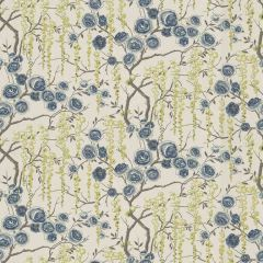 Kravet Peony Tree Ultramarine 523 Sarah Richardson Harmony Collection Multipurpose Fabric