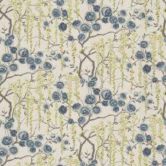 Kravet Peony Tree Ultramarine 523 Sarah Richardson Harmony Collection Multipurpose Fabric