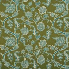 GP And J Baker Kelway Moss/Teal Bf10586-795 Cosmopolitan Collection Drapery Fabric