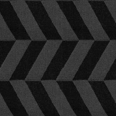 Endurepel Proportion 9009 Black Indoor Upholstery Fabric