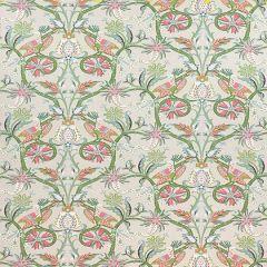 Thibaut Peacock Garden Coral and Pink F924359 Bridgehampton Collection Multipurpose Fabric