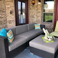 Custom Loveseat / Sofa Cushions (3 Seats)