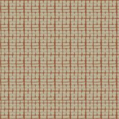 Fabricut Macrame Check Paprika 4677 Artfully Modern Collection Multipurpose Fabric