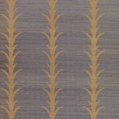 F-Schumacher Acanthus Stripe-Turmeric 5006054 Luxury Decor Wallpaper